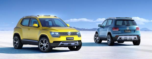 Studie malého SUV Volkswagen Taigun slaví světovou premiéru v Brazílii